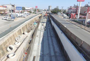 Antalya 3.Aşama Raylı Sistemler Tramvay Sakarya Bulvarı Alt Geçitler