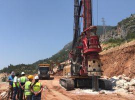 Antalya Kemer Olimpos Zemin Güçlendirme Projesi