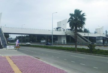 Antalya EXPO Tramvay Üst Geçitler